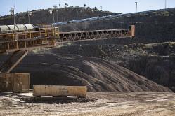 貴重な国内採掘場だが、精製はできない(カリフォルニア州)(Bloomberg)