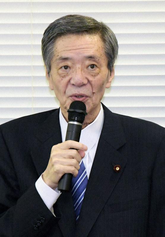 竹下元総務会長が約10カ月ぶりに復帰 派閥会合に出席 食道がんで療養 ...