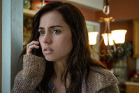 "This image released by Lionsgate shows Ana de Armas in a scene from ""Knives Out."" (Claire Folger/Lionsgate via AP)"