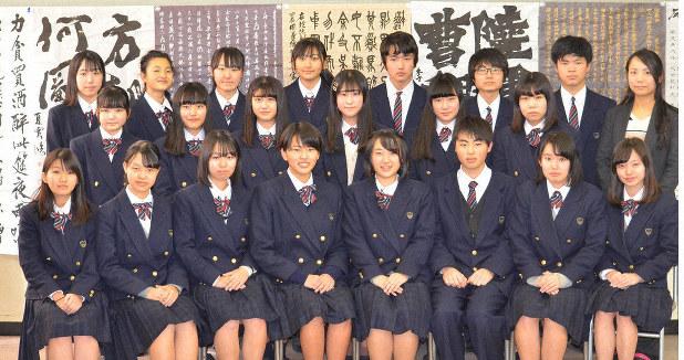 書の甲子園 幕張総合が地区準優勝 /千葉 - 毎日新聞