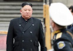 北朝鮮の金正恩朝鮮労働委員長