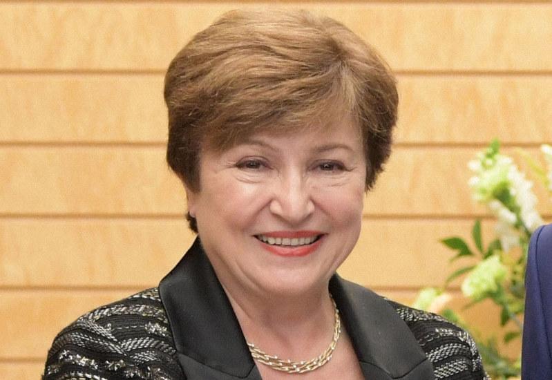 国際通貨基金(IMF)のゲオルギエワ専務理事