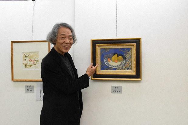ぎふ人物記:岐阜市生まれの洋画家・奥西賀男さん(74) 日本人の ...