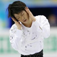 男子SPで演技する町田樹=マリンメッセ福岡で2013年12月5日、貝塚太一撮影