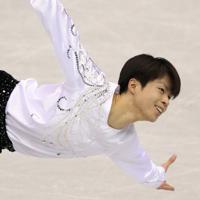 フィギュアスケート・グランSPプリファイナル福岡2013の男子で演技する町田樹=マリンメッセ福岡で2013年12月5日、山本晋撮影