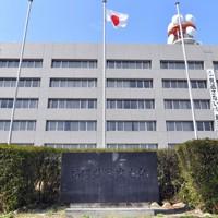 福岡県警本部=福岡市博多区で