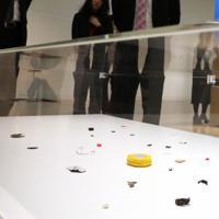 「ここから4」西野克さんの作品=東京都港区の国立新美術館で2019年12月4日、岡本同世撮影