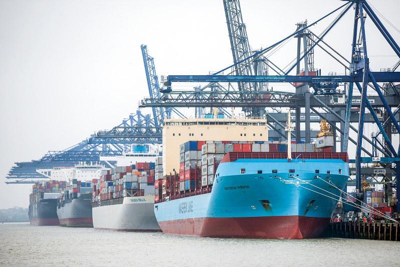 自由・公正な貿易の旗振り役だが(Bloomberg)