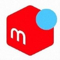 This photo shows the logo of Mercari Inc.