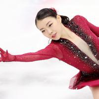 女子SPで演技する紀平梨花=イタリア・トリノのパラベラ競技場で2019年12月6日、貝塚太一撮影