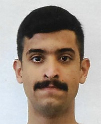 This undated photo provided by the FBI shows Mohammed Alshamrani. The Saudi student opened fire inside a classroom at Naval Air Station Pensacola on Friday before a deputy killed him. (FBI via AP)
