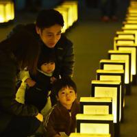 使われなかった年次有給休暇を供養するイベント「有給浄化」=大阪市中央区で2019年12月10日午後6時59分、山崎一輝撮影