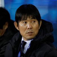 東アジアE-1選手権【中国-日本】日本代表の森保一監督=韓国・釜山で2019年12月10日、ロイター