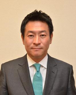 Liberal Democratic Party legislator Tsukasa Akimoto (Mainichi)