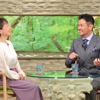 「サワコの朝」に登場する廣瀬俊朗さん(右)=MBS提供