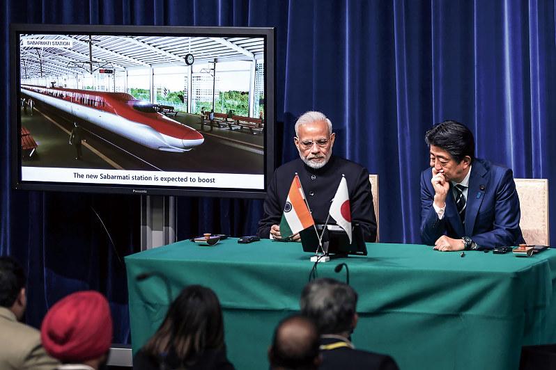 日本の新幹線技術を取り入れるも、先行きは不透明に(Bloomberg)