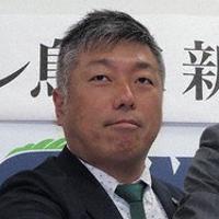 来季も指揮を執る高木理己監督=米子市安倍で、横井信洋撮影