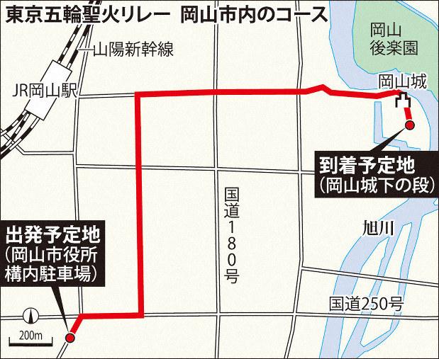 岡山 聖火 ランナー