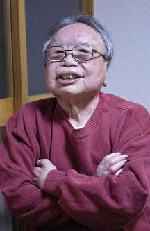 Yasuji Hirasawa is seen at the national sanitorium Tama Zenshoen in Higashimurayama, Tokyo, on Dec. 17, 2019. (Mainichi/Kotaro Adachi)