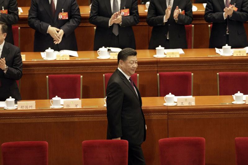 国内外で影響力を誇示(中国の習近平国家主席)=2019年3月(Bloomberg)