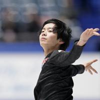 公式練習に臨む島田高志郎=東京・国立代々木競技場で2019年12月19日、佐々木順一撮影