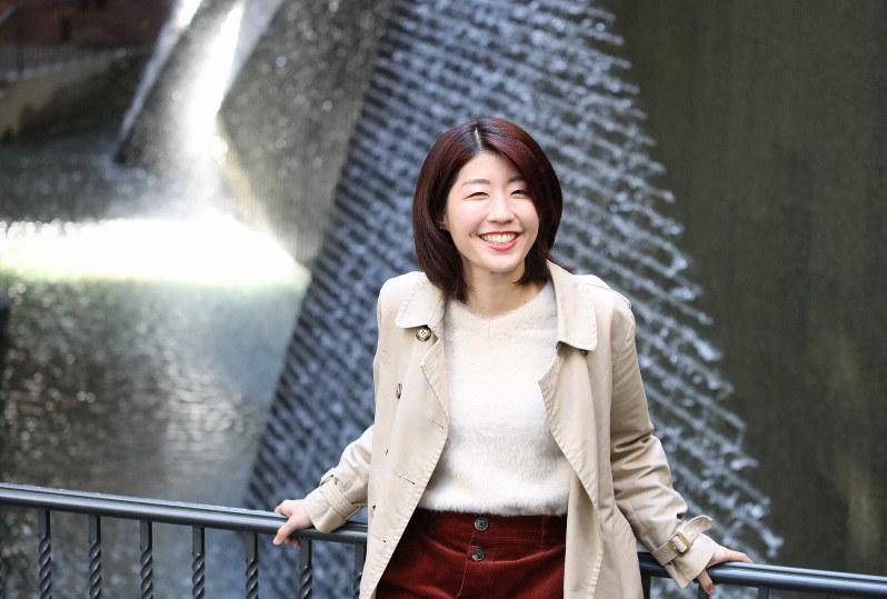 社会課題系YouTuberのエシカルゴみずきさん=大阪市北区で2019年12月13日、梅田麻衣子撮影