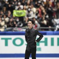 男子フリーの演技を終えた高橋大輔=東京・国立代々木競技場で2019年12月22日、竹内紀臣撮影