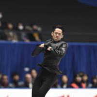 男子フリーで演技する高橋大輔=東京・国立代々木競技場で2019年12月22日、竹内紀臣撮影