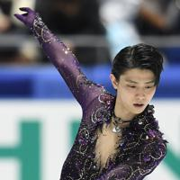 男子フリーで演技する羽生結弦=東京・国立代々木競技場で2019年12月22日、竹内紀臣撮影