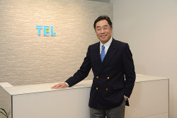 Interviewer 藤枝克治(本誌編集長)Photo 武市 公孝、東京都港区の本社で