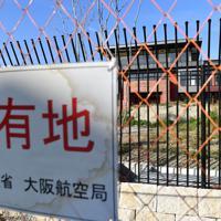 国有地に放置されたままの森友学園の小学校校舎=大阪府豊中市で2019年12月25日、望月亮一撮影
