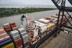 WTOの存在が揺らいでいる(米ヒューストンの港)(Bloomberg)