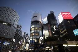 銀座の地価上昇も今年までか Bloomberg