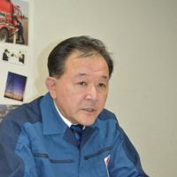 福島第1原発で進む廃炉作業などについて語る大倉誠代表