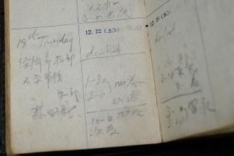 「人間宣言」関与、山梨勝之進 終戦直後、学習院長の日記 GHQ要人と面会記録