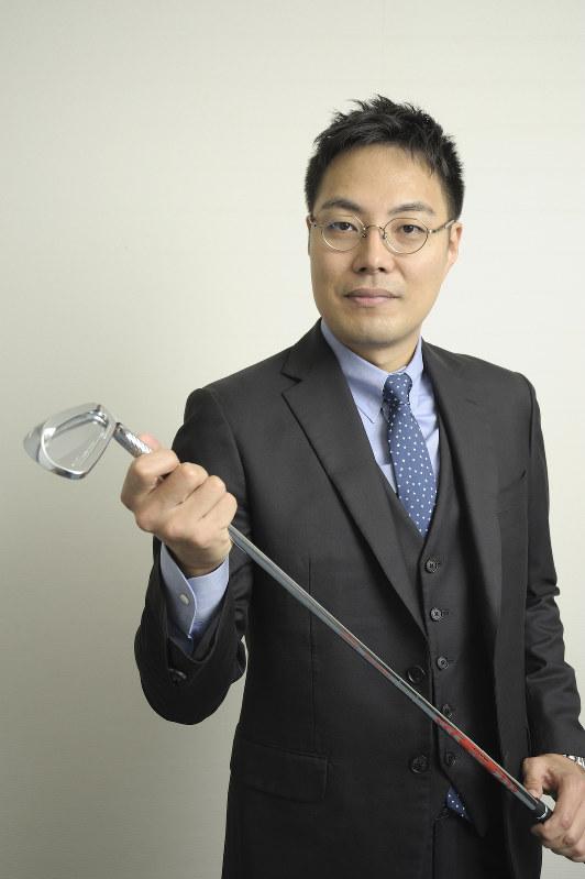 写真1 「ものづくりのこだわり、緻密さ、繊細さをゴルフに持ち込みたい」撮影=蘆田 剛