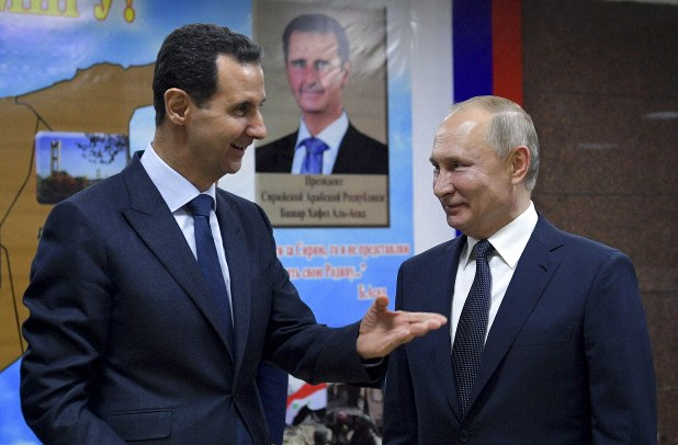 Russia's Putin visits Syria to meet Assad, a key Iran ally - The ...