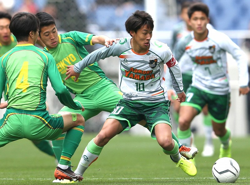 帝京 長岡 サッカー