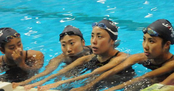 2020に懸ける:3度目五輪、まだまだ成長 アーティスティックスイミング 乾友紀子(29)