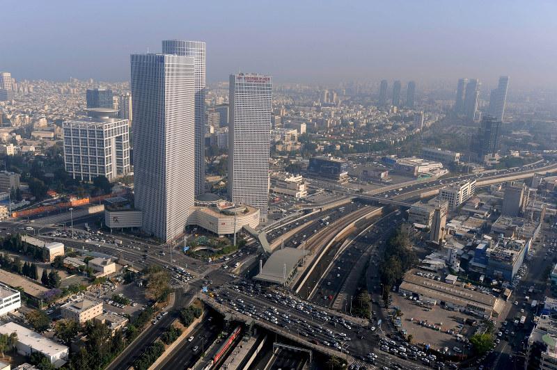 産業の中心都市テルアビブ(Bloomberg)