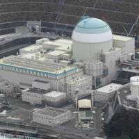 四国電力伊方原発3号機=愛媛県伊方町で2020年1月13日、本社ヘリから大西達也撮影