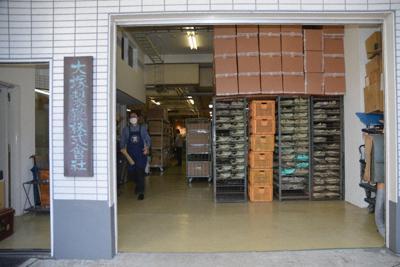 保管されている大量の靴型=東京都大田区久が原の大塚製靴で