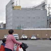 放火殺人事件の発生から半年となった「京都アニメーション」第1スタジオ=京都市伏見区で2020年1月18日午後3時13分、川平愛撮影