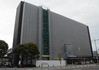 The Oita Municipal Government building in the city of Oita (Mainichi/Arina Ogata)