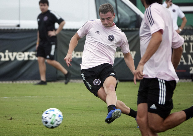 Soccer Beckham S Mls Team In Miami Takes Field For First Time The Mainichi