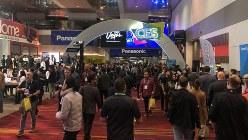 世界最大の家電IT見本市「CES」のメーン会場=米西部ラスベガスで2020年1月7日、中井正裕撮影