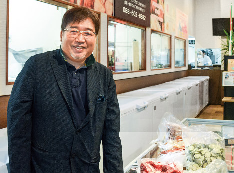 大関興治 ブエナピンタ代表取締役 規格外の食材を加工し全国展開