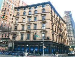 テナントとして入居を予定するニューヨークのビル(筆者撮影)