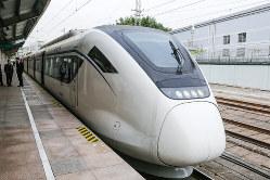 地域活性化の要として期待される穂莞深城際鉄道(阿部真之氏撮影)