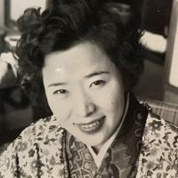 24歳当時の藤井幸子さん=1959年1月撮影、藤井哲伸さん提供